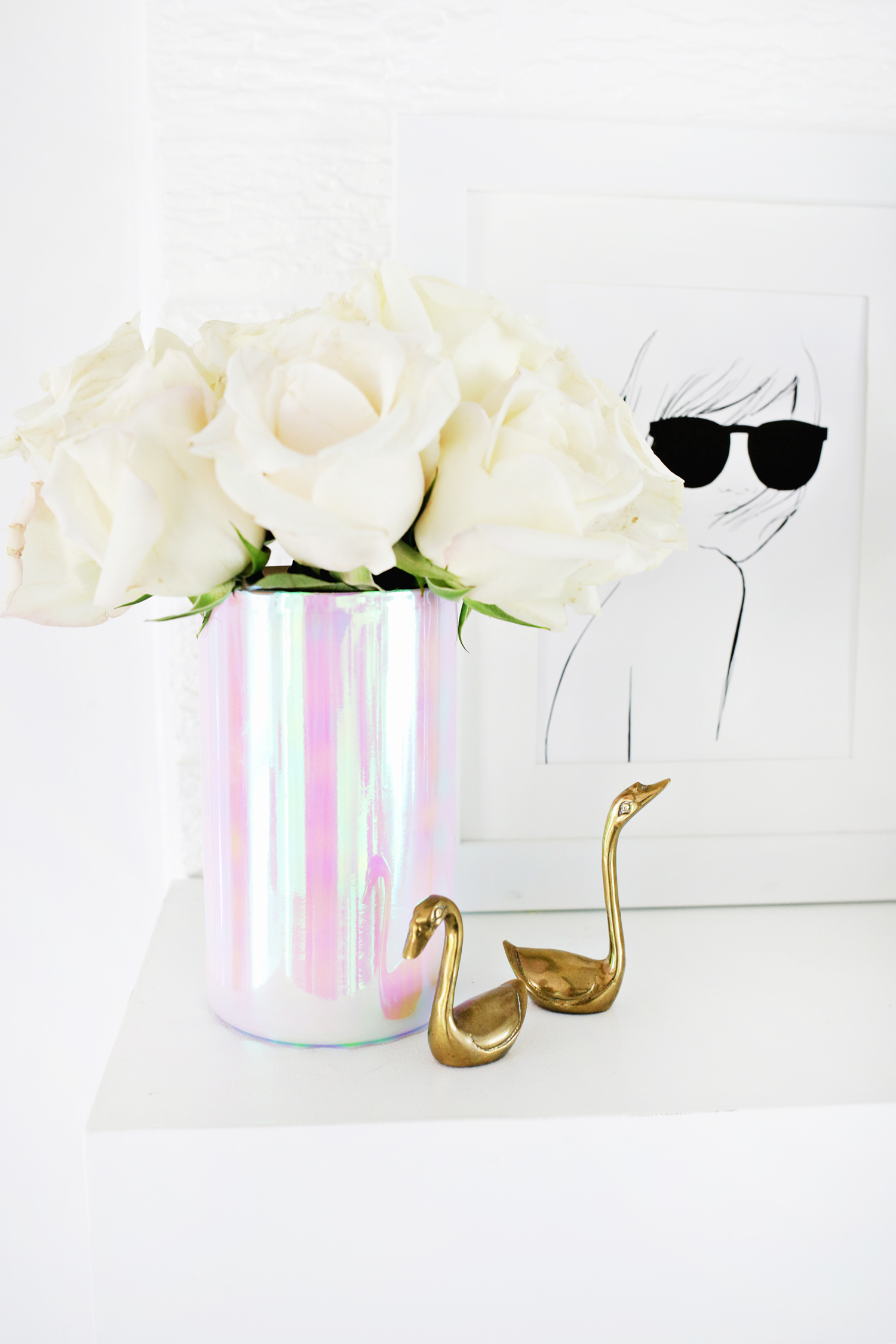 Lovely Holographic Vase DIY Great Pictures