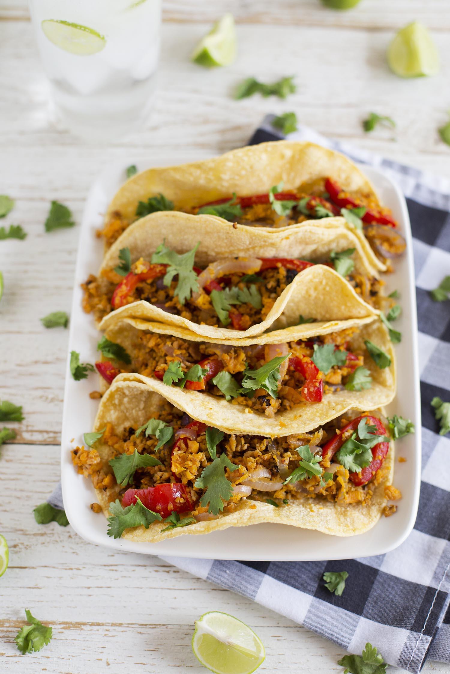 Super filling Sweet Potato Tacos (via abeautifulmess.com)