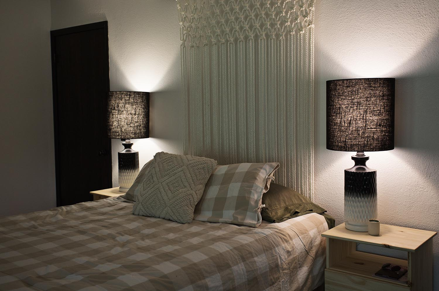 Project restyle bedside lamps