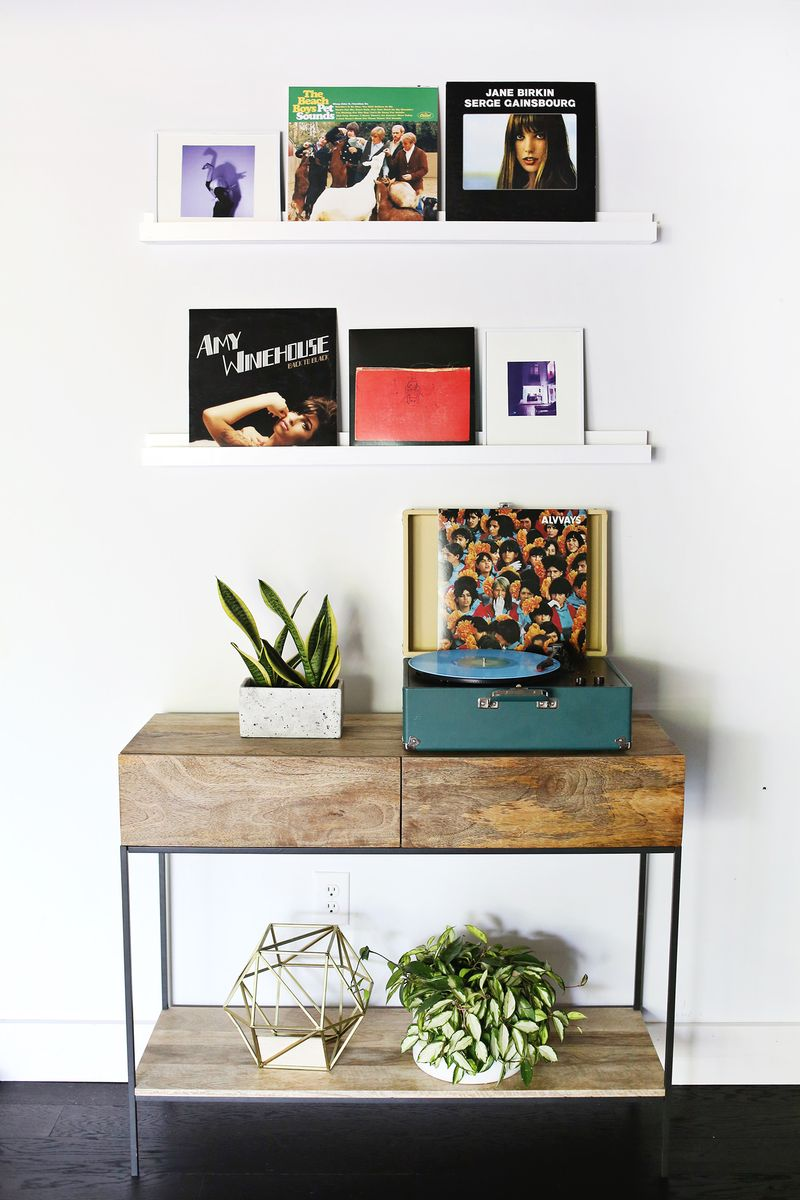 How to build a photo ledge