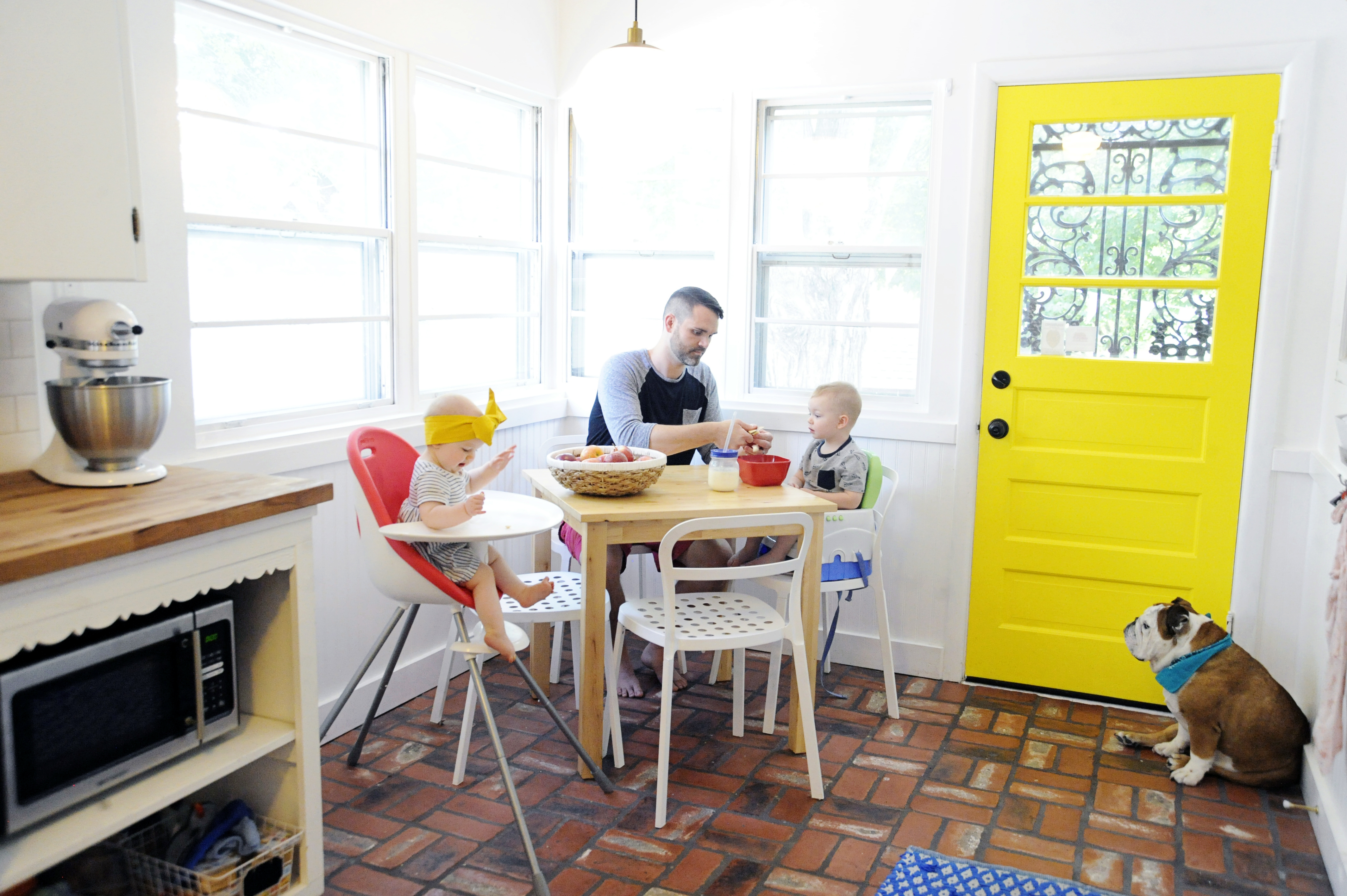 At Home With Lindsey Key-Clouse on A Beautiful Mess