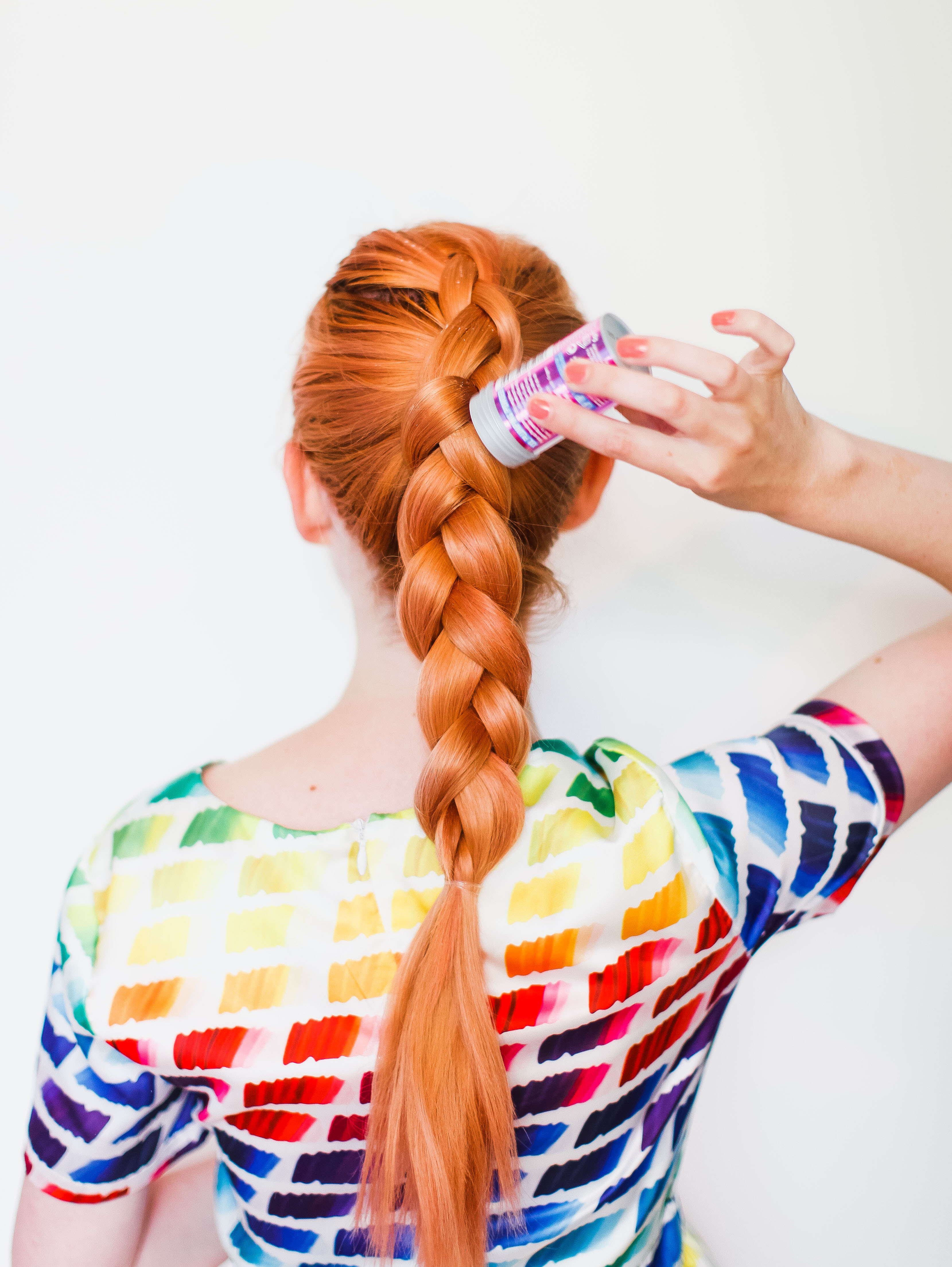 The Secret To Thicker Braids (clickthrough For The Tutorial)