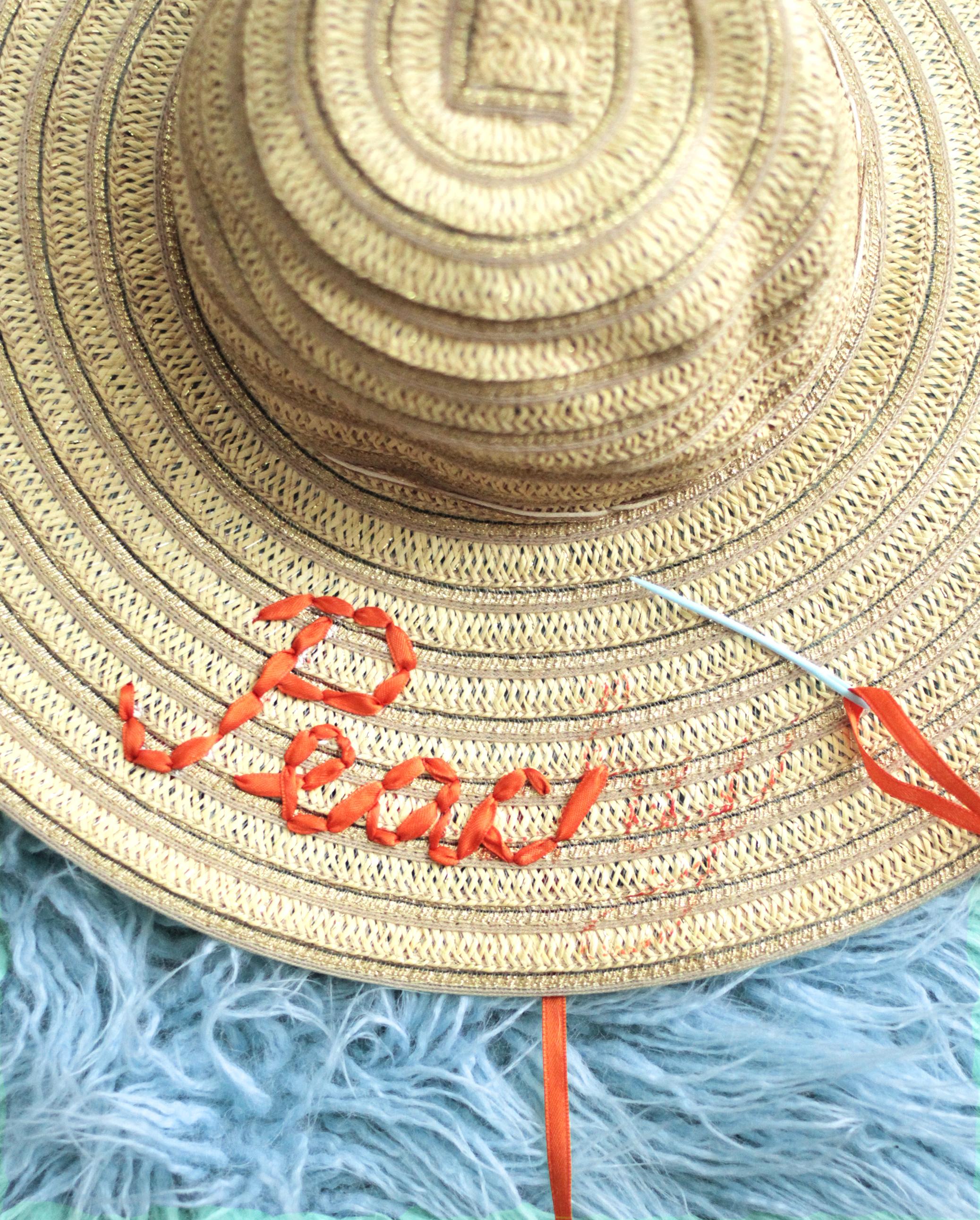 Sun Hat DIY Step 3