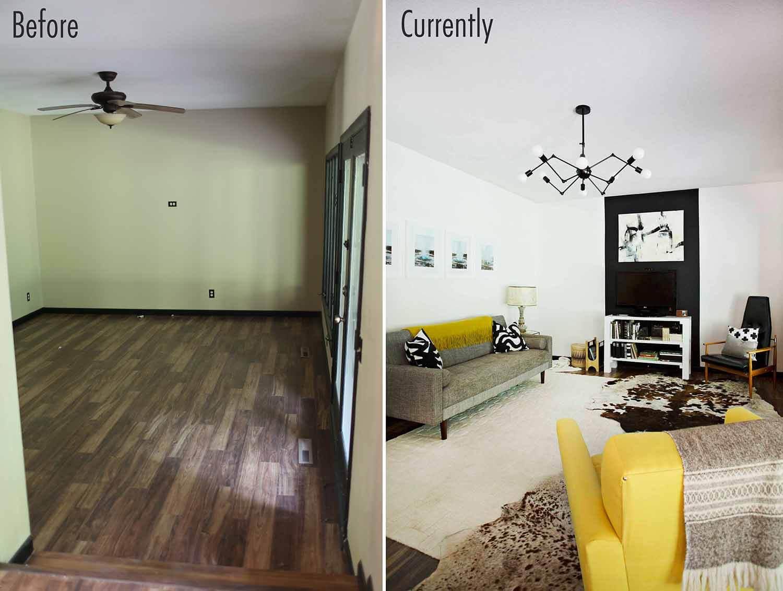 Tv living room progress