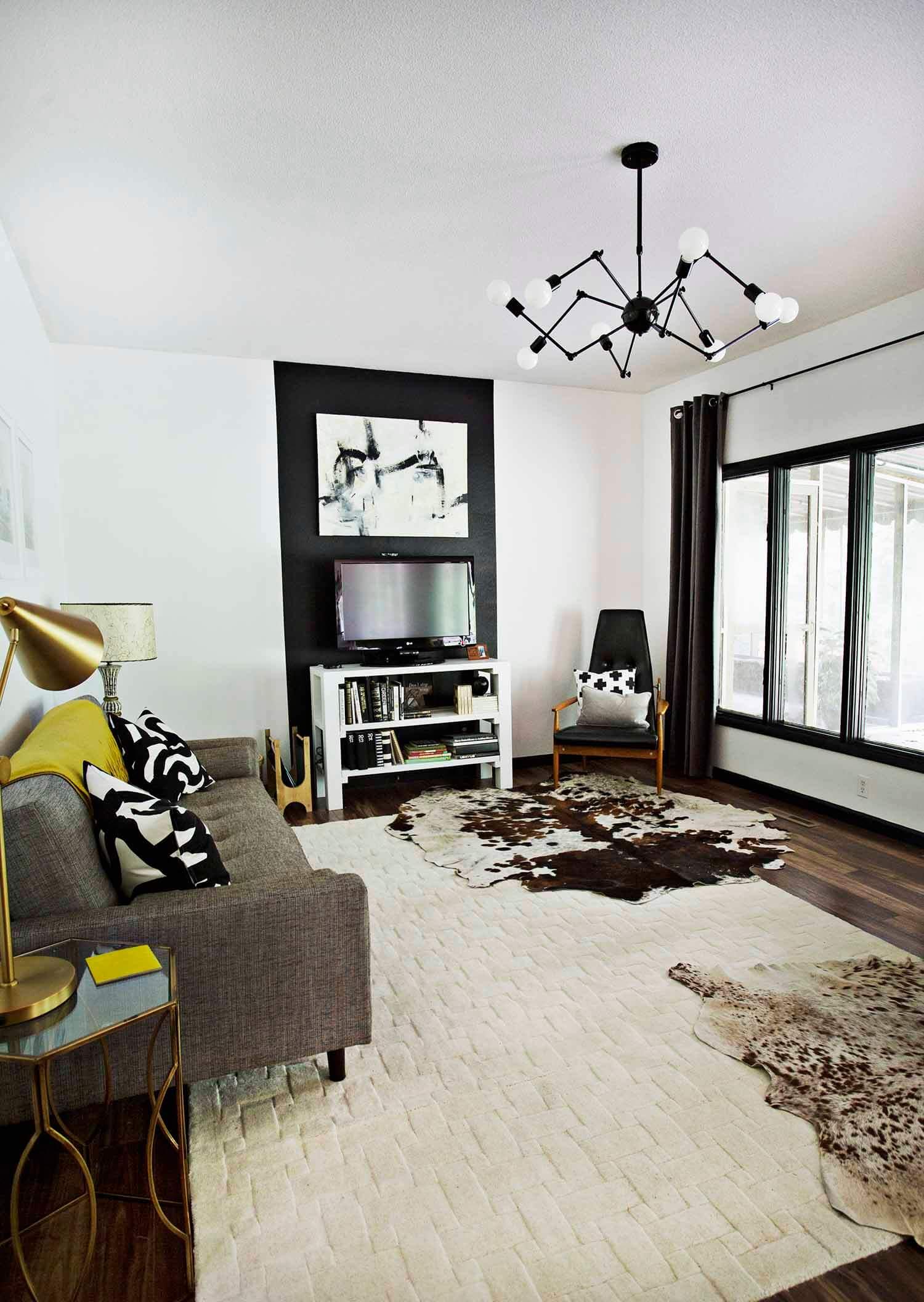 Progress Report: TV Living Room - A Beautiful Mess