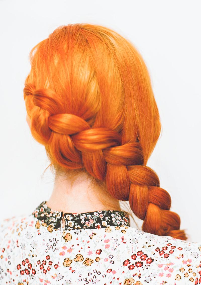 Wraparound braid tutorial (click-through for the full tutorial)  -1