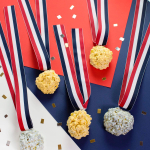 Olympic Medal Popcorn Balls (+ Giveaway!!)
