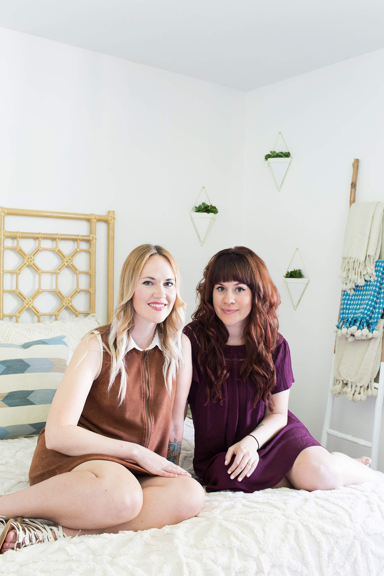 Emma Chapman and Elsie Larson