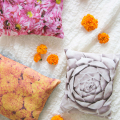 Create Vibrant Floral Photo Pillows  - August 25, 2016