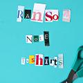 DIY Ransom Note T-Shirts  - September 29, 2016