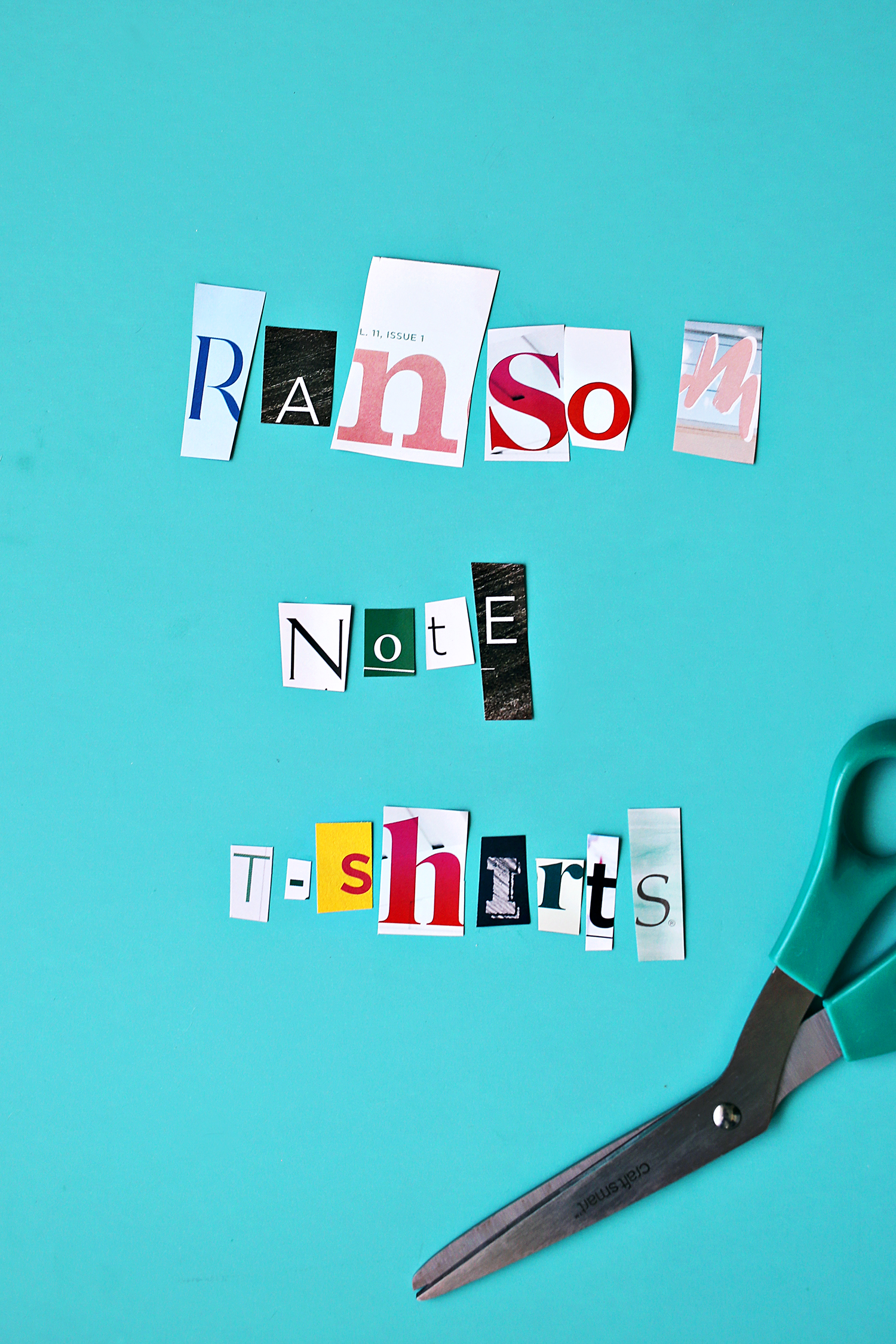 Ransom Note T-Shirts