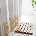 Macrame Shower Curtain DIY  - September 16, 2016
