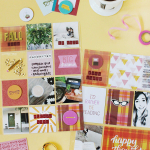 Scrapbook Sunday: September Messy Box