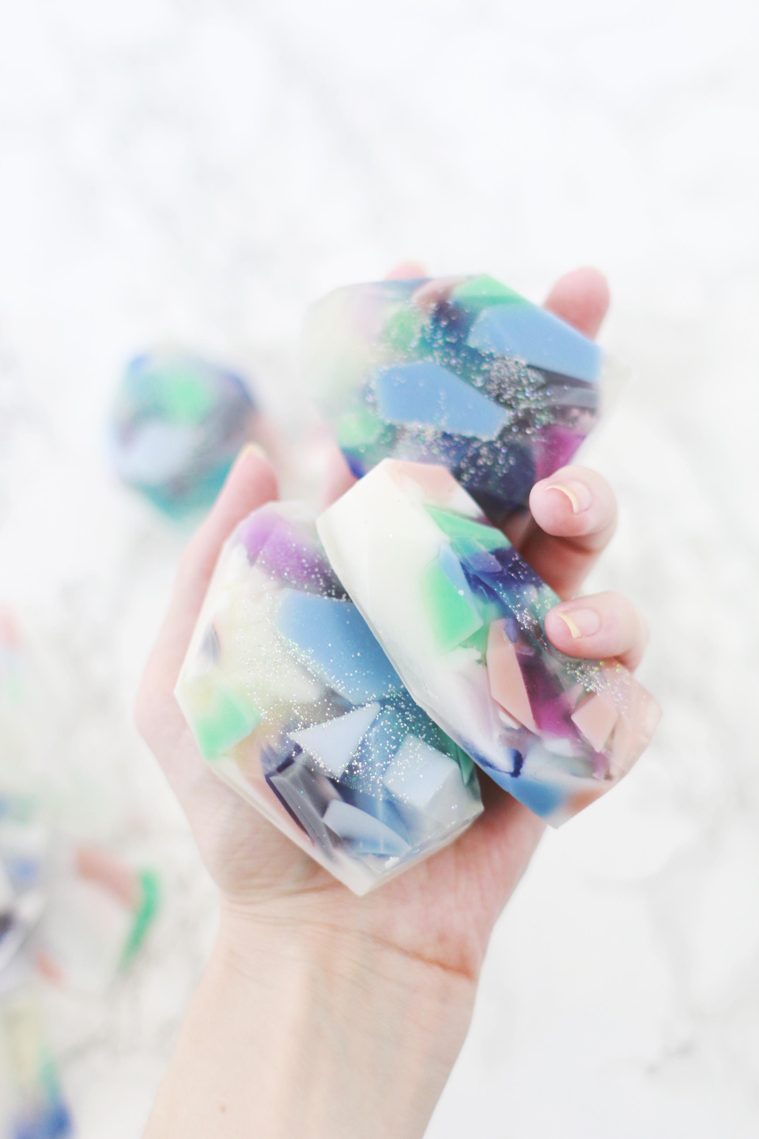 Rock Gem Soap