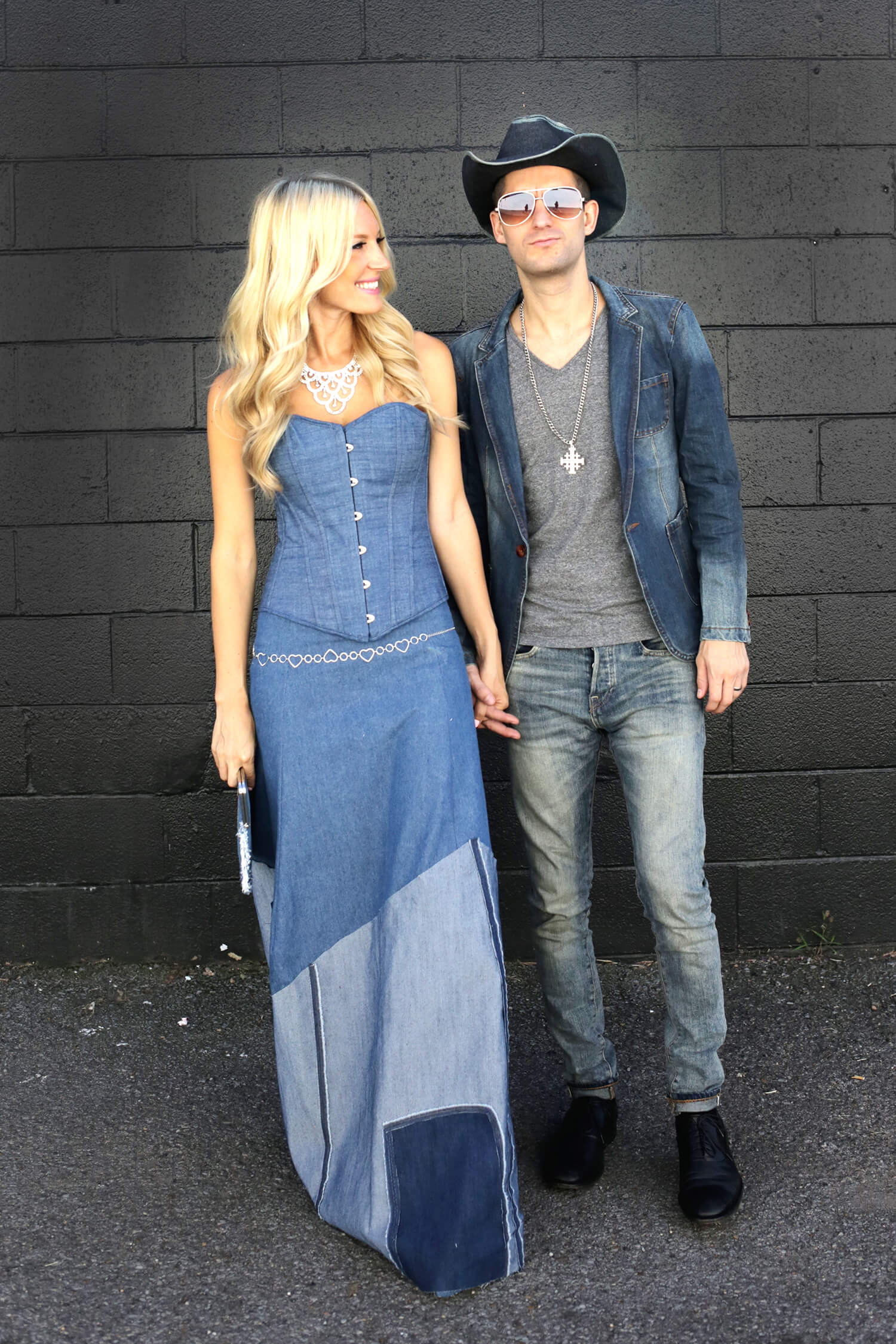 Couple's Costume- Britney and Justin (The Denim Outfits!) Click through for more!