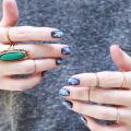 Easy Galaxy Nails Mani DIY - October 27, 2016