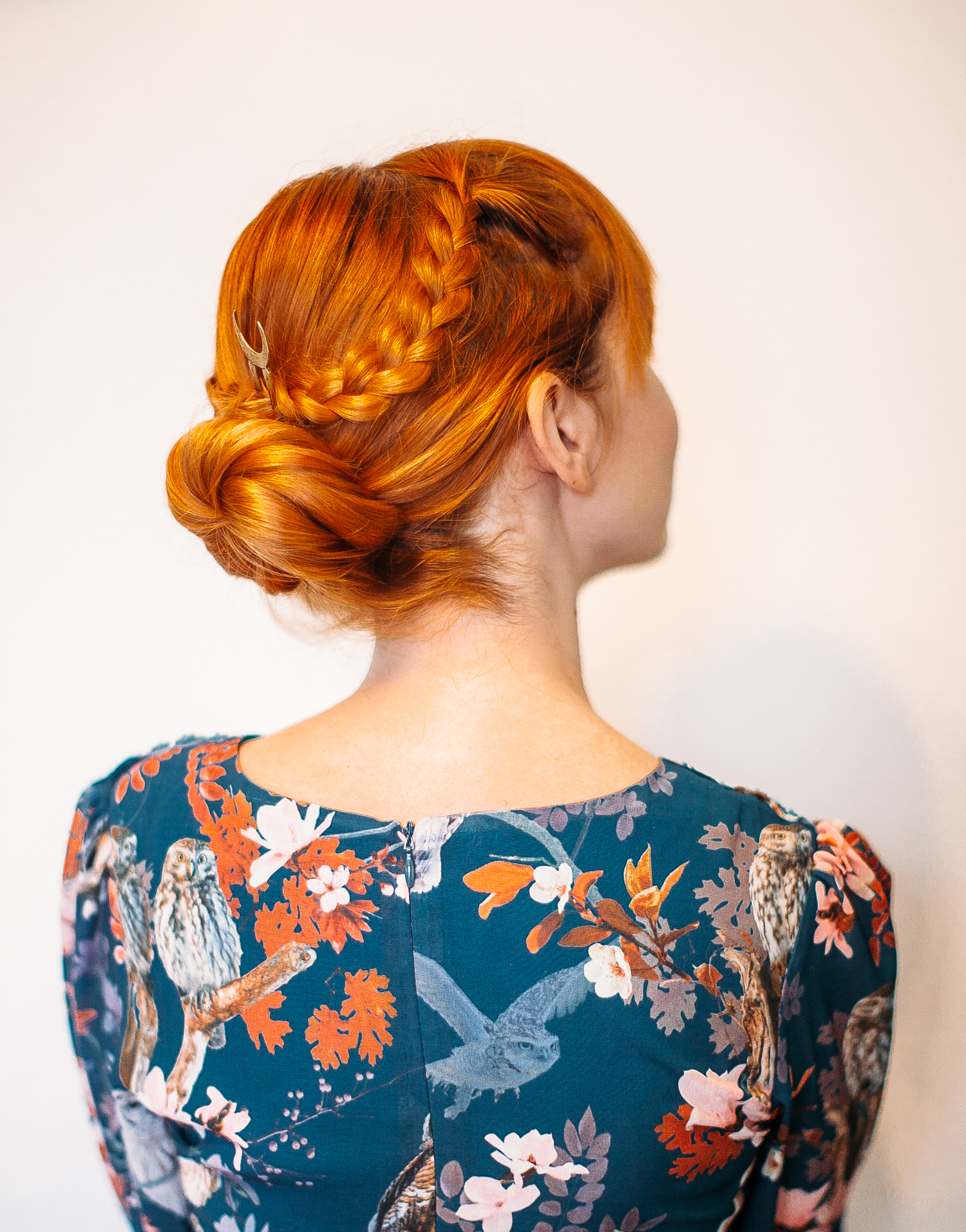 easy hair styles for easy criss cross braided bun a beautiful mess bloglovin 5512