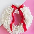 DIY Yarn Wreath  - December 07, 2016