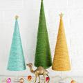 Yarn Christmas Tree DIY  - December 02, 2016