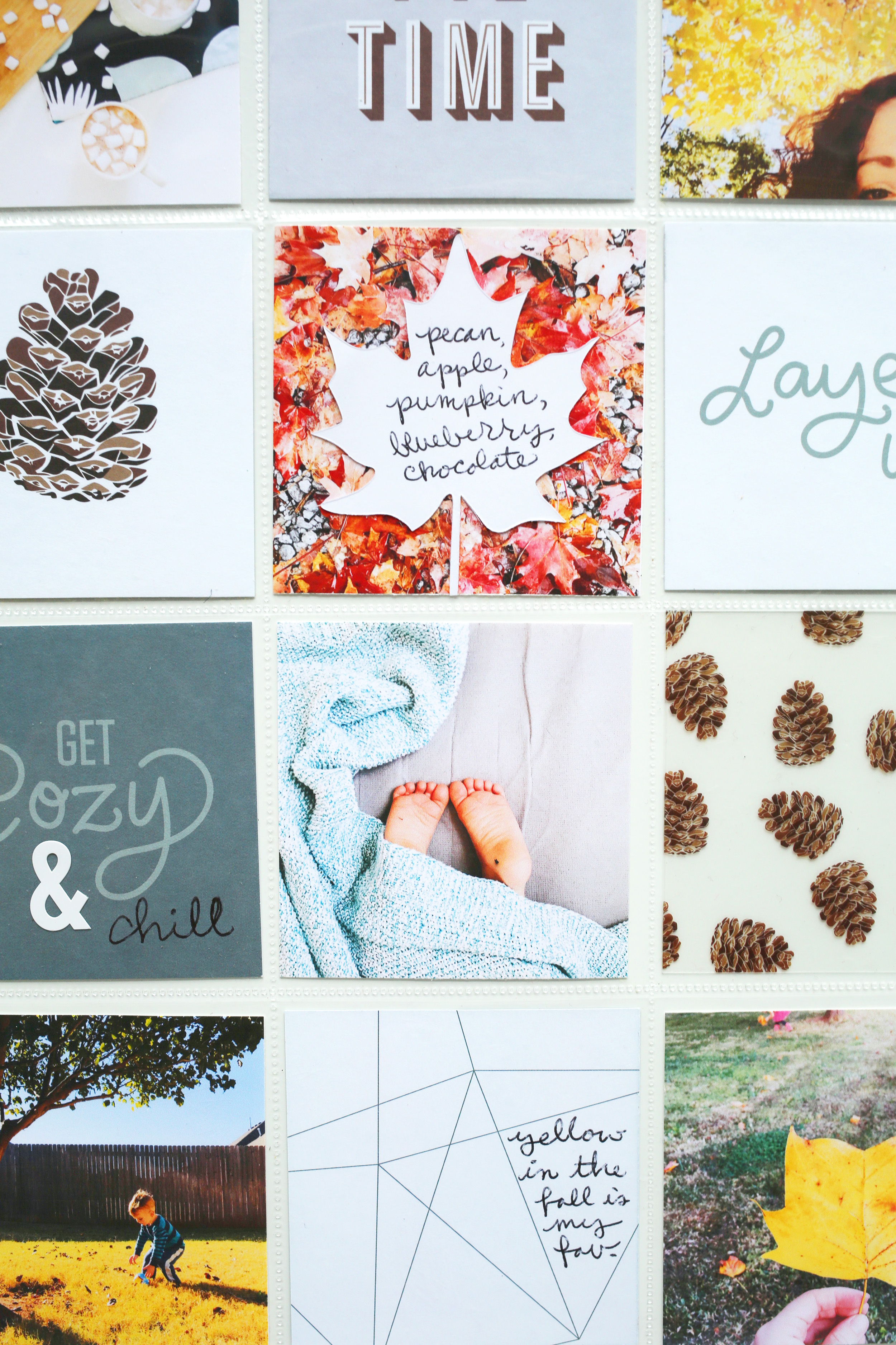 Scrapbook Sunday Messy Box for the holidays