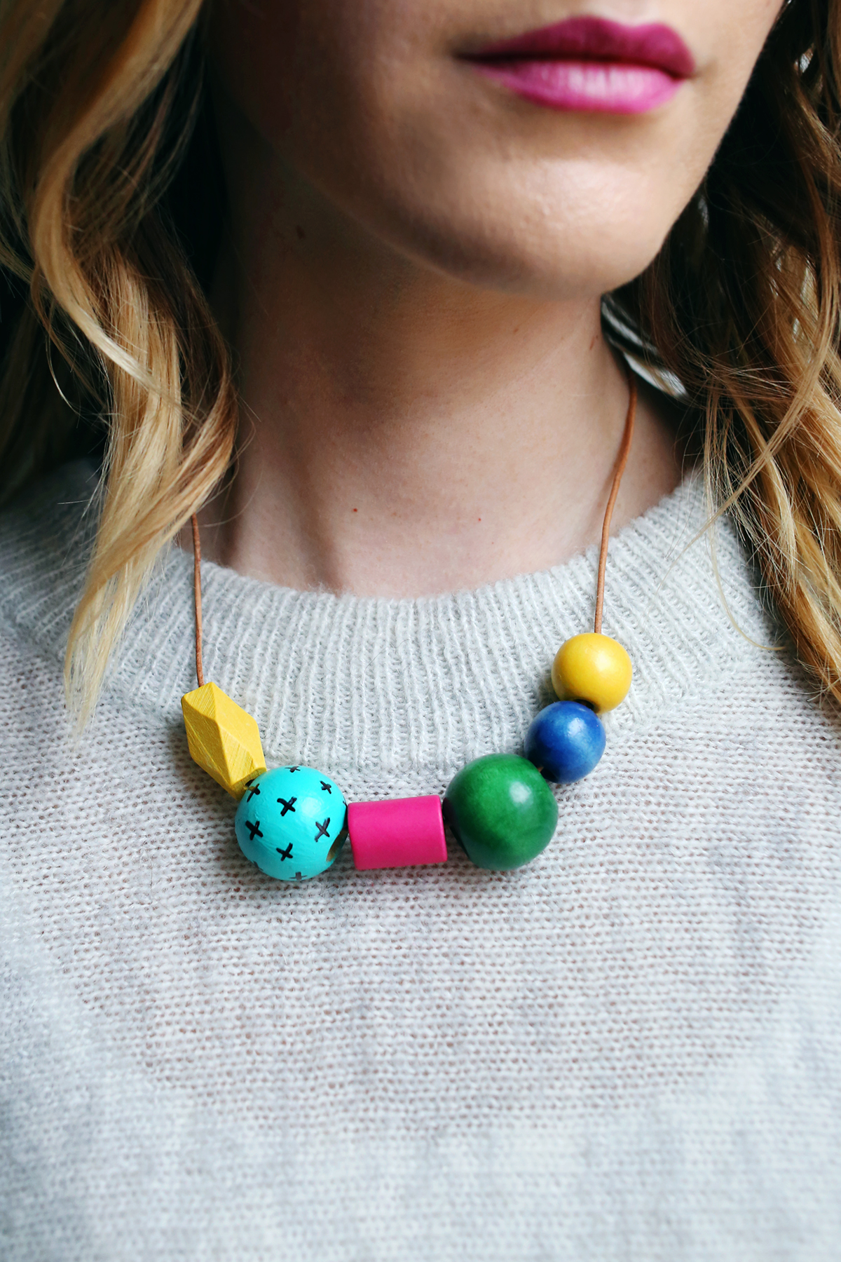 Art Teacher Necklace DIY