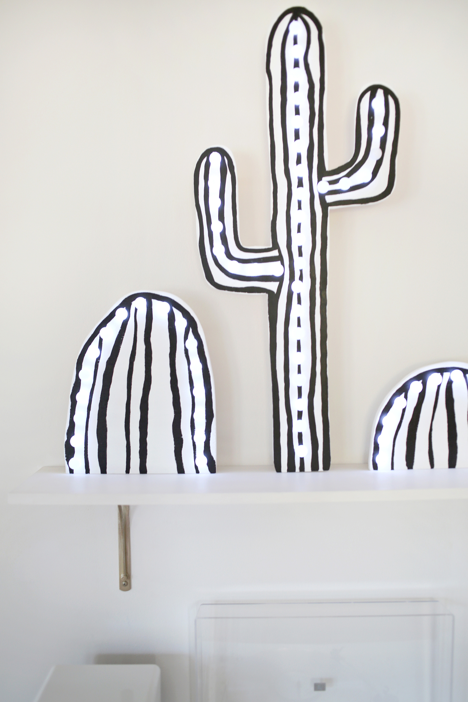 Cactus Marquee Sign DIY