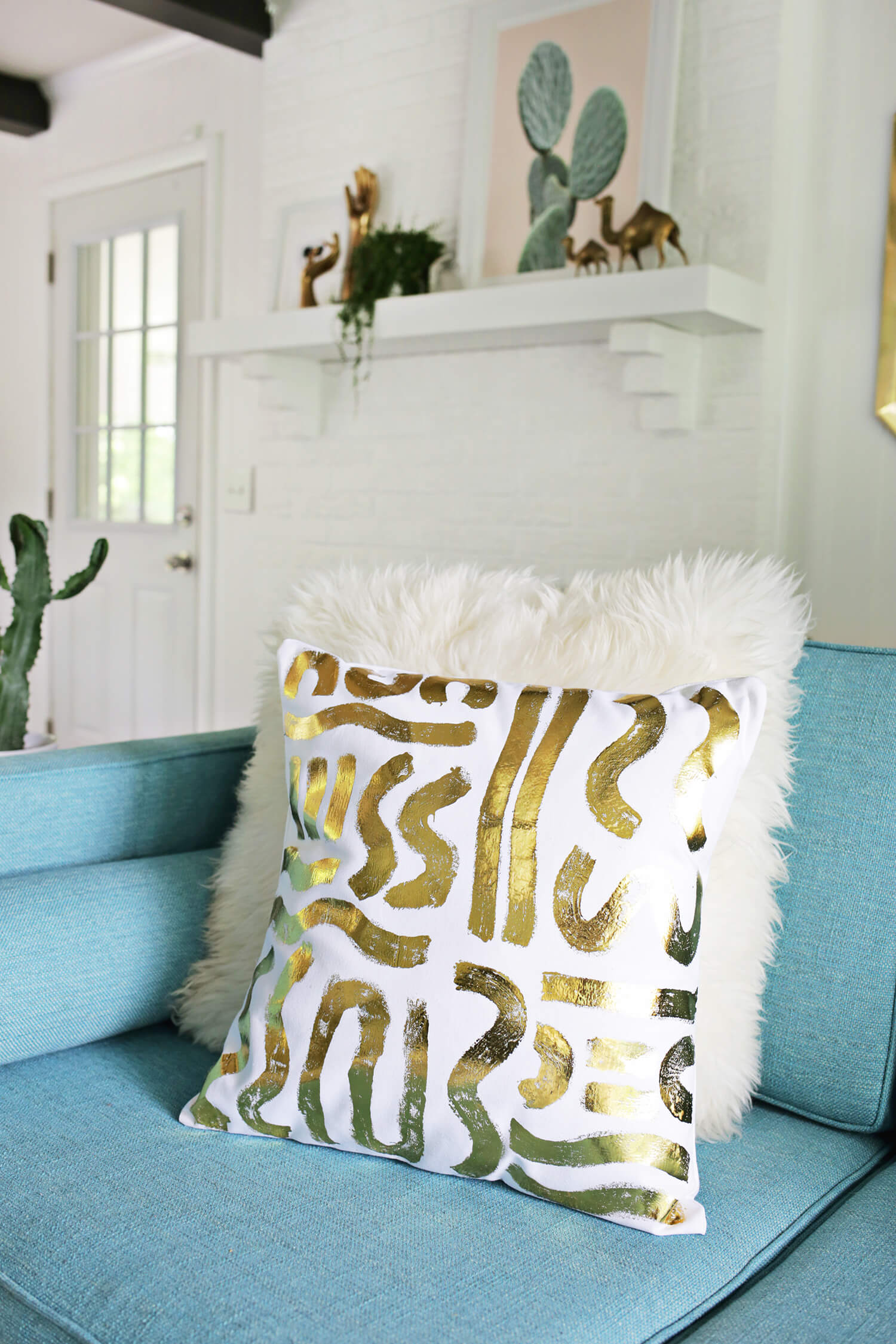our favorite pillow diys - a beautiful mess Couch Pillow Patterns