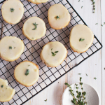 Vanilla and Thyme Slice and Bake Cookies
