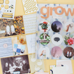 Scrapbook Sunday: January Messy Box