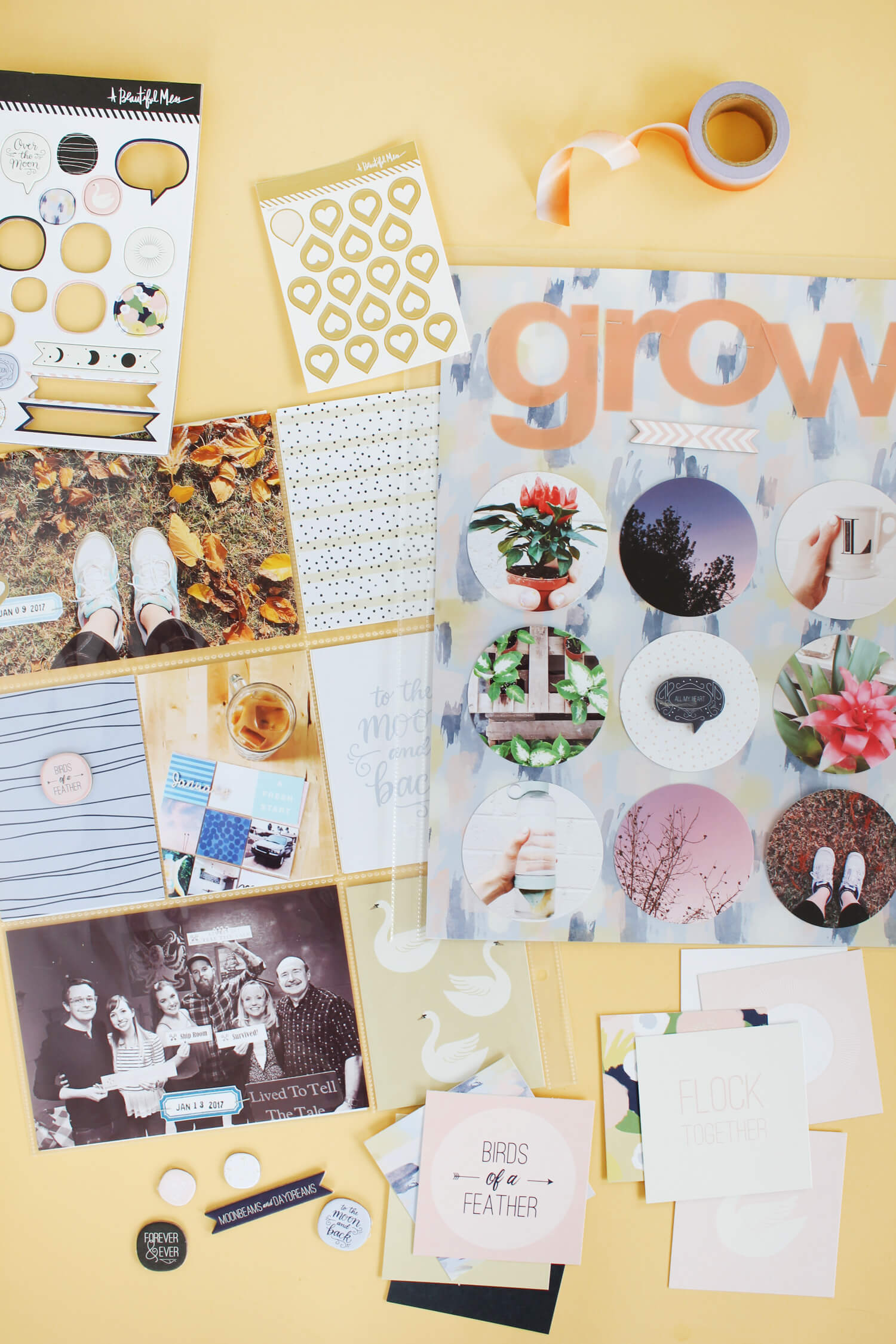 January Messy Box from A Beautiful Mess Get yours at www.ABeautifulMess.com