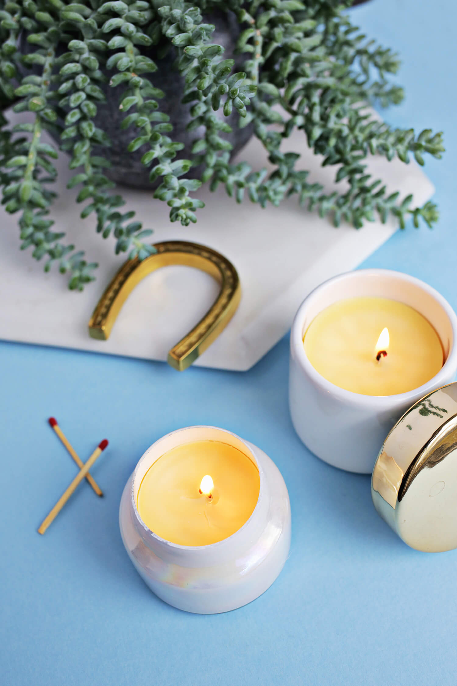 Make Your Own Beeswax Candles! (click through for tutorial)