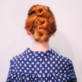 Easy Messy Updo for Shorter Hair  - February 08, 2017