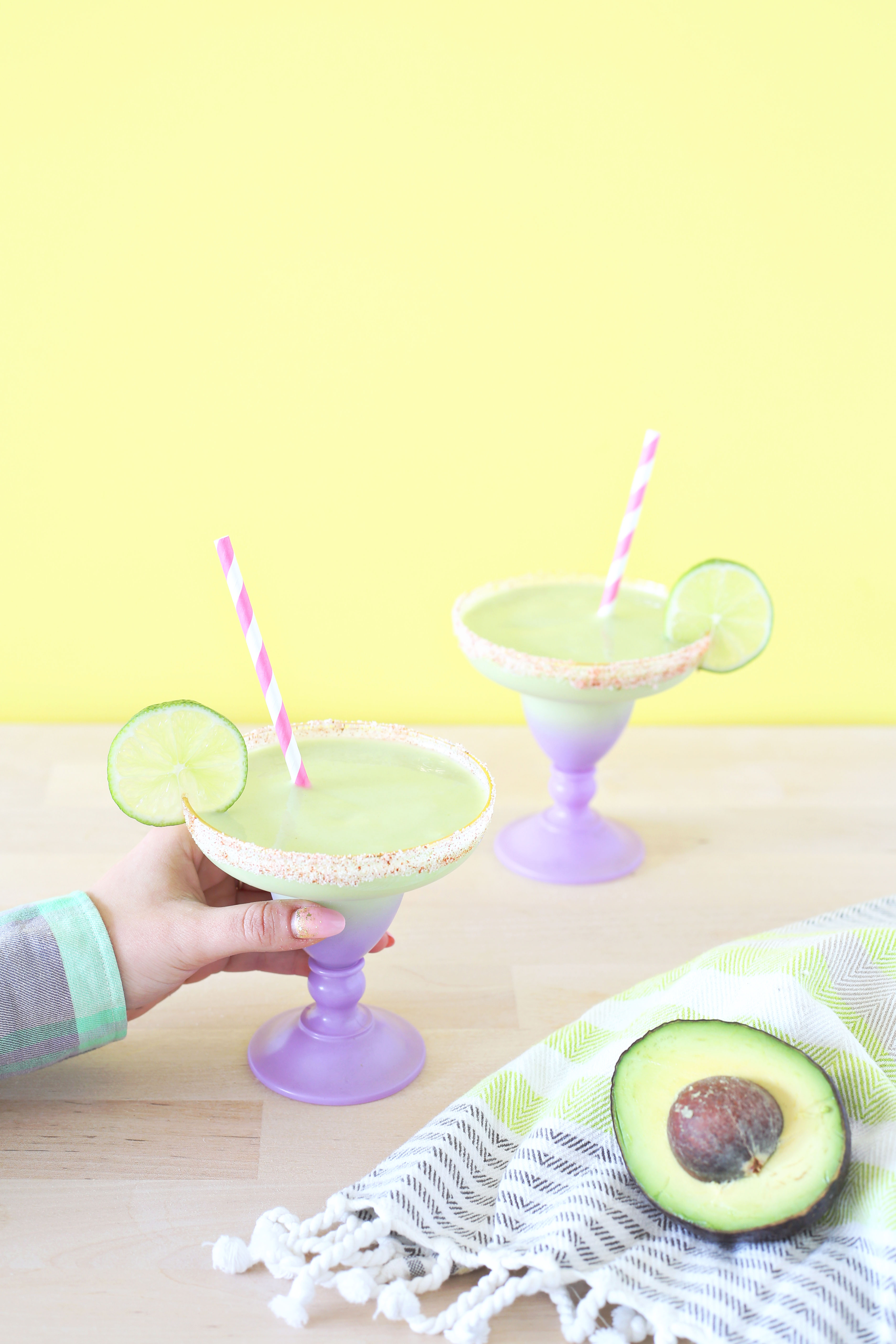 Frozen Avocado Margarita (click through for recipe)