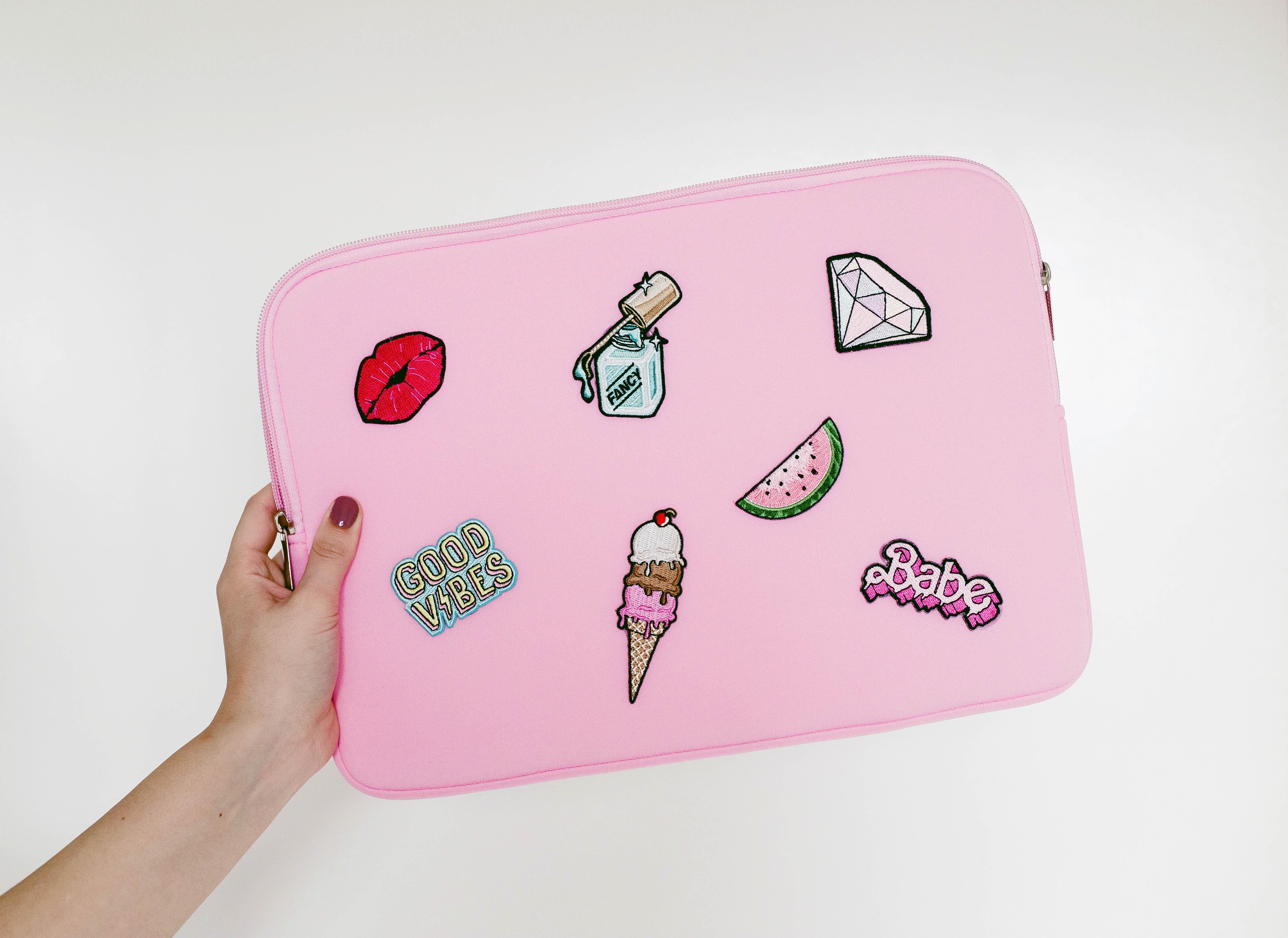 DIY Patch Laptop Case - A Beautiful Mess