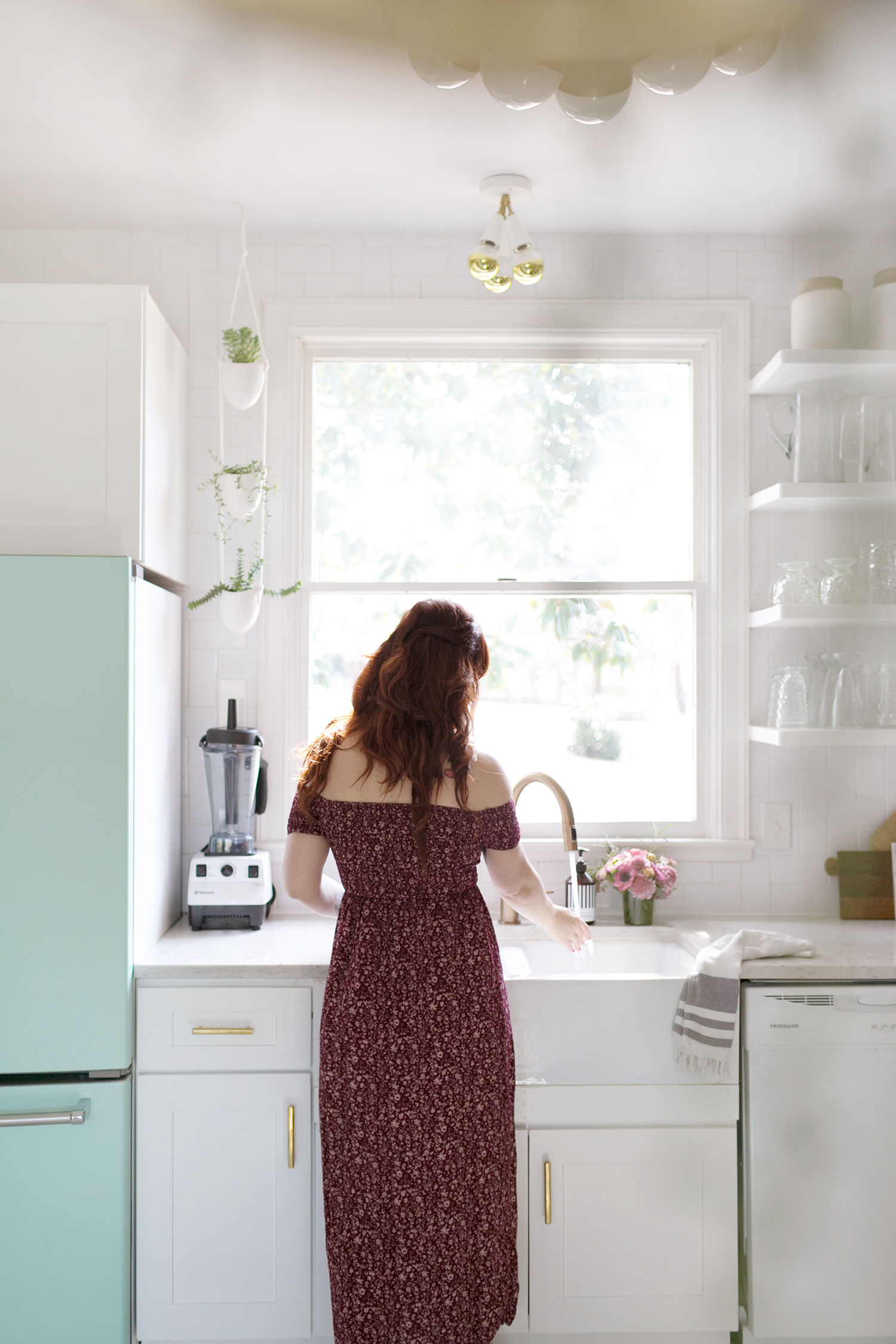 Elsie Larson's Kitchen Tour