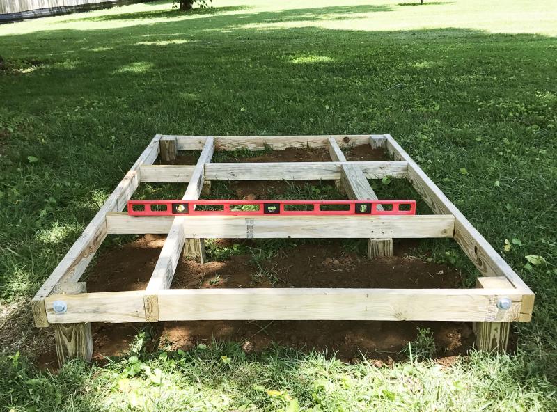 A-Frame Playhouse DIY (click through for toturial!)