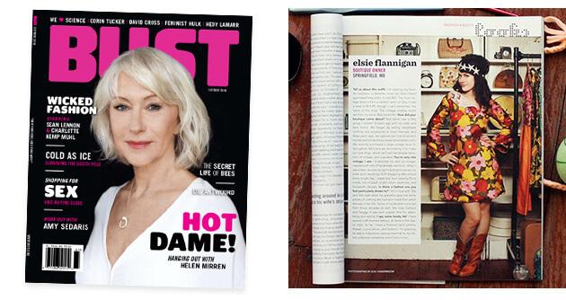 Bust Magazine - A Beautiful Mess Press Photos