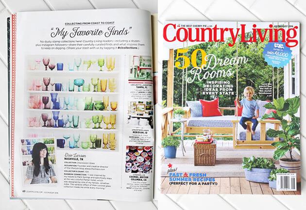 Country Living Magazine - A Beautiful Mess Press Photos