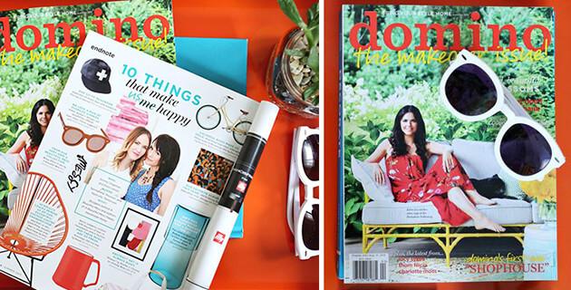 Domino Magazine - A Beautiful Mess Press Photos