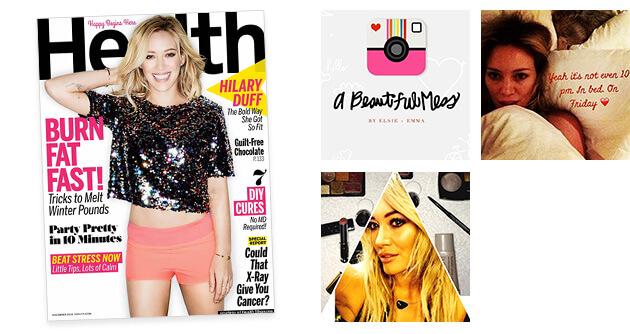 Health Magazine - A Beautiful Mess Press Photos