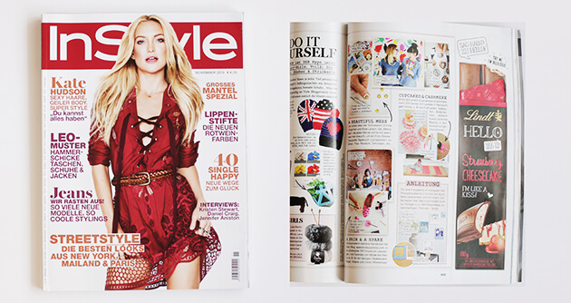 InStyle (Germany) Magazine - A Beautiful Mess Press Photos