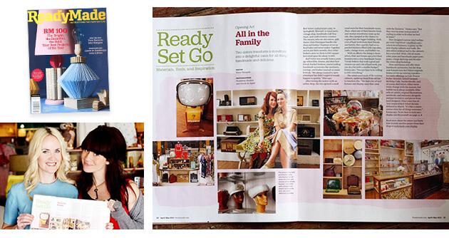 Readymade Magazine - A Beautiful Mess Press Photos