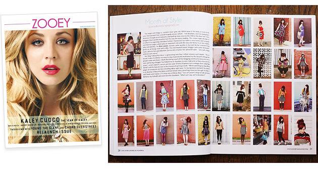 Zooey Magazine - A Beautiful Mess Press Photos