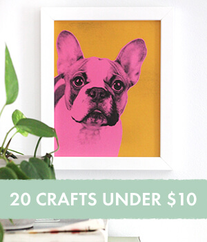 20 Craft Projects Under $10